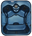 Nordic-Hot-Tub-Blue Retreat-top-view-small