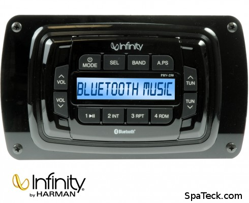 Infinity Bluetooth 200W Weatherproof Spa Receiver Kit AM FM BT