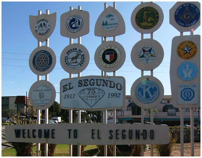 el segundo city sign