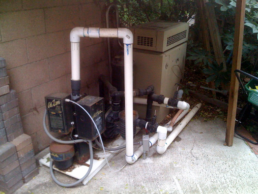 before pump heater