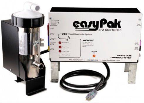 EasyPak 2002 Low Flow Digital Spa Control System